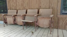 Theatre seats wooden in Livingston, Texas