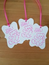 """All New """"It's A Girl"""" Gift Tags Handmade in Ramstein, Germany"""