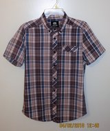 Ecko Unltd Young Men's Plaid Button Down Short Sleeve Shirt - Size Small in Lockport, Illinois