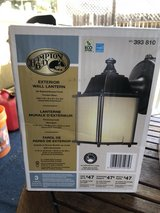 "NIB Hampton Bay Coach 8"" Bronze Exterior Wall Lantern Light in Fairfield, California"