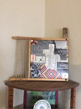 Framed collage piece. in Yucca Valley, California