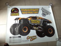 Monster Jam Wall Decals NEW in The Woodlands, Texas
