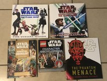 Lot of Star Wars Books in Vacaville, California
