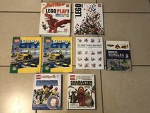 Lot of Lego Books EUC in Fairfield, California