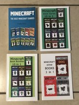 Lot of Minecraft Colection Books Like New in Vacaville, California