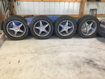 35x12.5x22 toyo mud tires with rims in Conroe, Texas