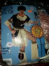 Adult Size large Witch Doctor costume in Aurora, Illinois