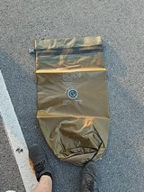 USMC orange inside sealline bag in Camp Lejeune, North Carolina