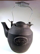 John Wright Cast Iron Kettle in Yucca Valley, California