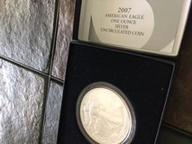 2007 Uncirculated Silver Eagle in Lake Charles, Louisiana
