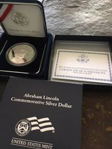 Lincoln Silver Commemorative in Fort Polk, Louisiana