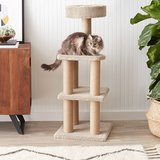 AmazonBasics Cat Activity Tree with Scratching Posts in Glendale Heights, Illinois