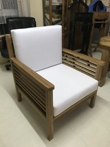 New outdoor chair in Okinawa, Japan