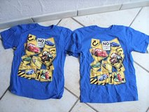 2 Lightning McQueen short sleeve shirts size 7/8 in Stuttgart, GE