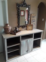 Large and Tall Rustic  TV Stand in Baytown, Texas