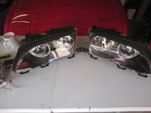 E46 headlights in Lakenheath, UK