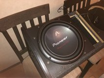 """12"""" sub and amp w/INSTALLATION! in Okinawa, Japan"""