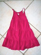 Raspberry colored sun dress size 4-5 (US) 110/116 (EU) in Stuttgart, GE