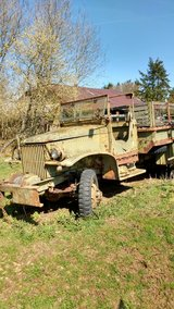 1942 GMC with original paperwork in Baumholder, GE