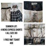 Mens Express shorts & free tshirt in Ramstein, Germany
