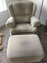 Recliner with ottoman in Bolingbrook, Illinois