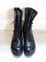 Black Jump Boots/ Paratrooper Boots HH Brand Made in USA Men's 11.5 in Fort Rucker, Alabama
