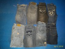 8prs. Boys Size 12 Jeans in Ramstein, Germany