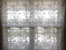 Beautiful Lace Curtains (set of 2) in Fort Rucker, Alabama