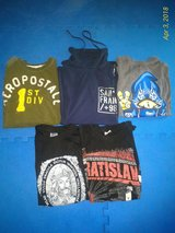 5 Boys Size Small Mixed Lot Short and Long Sleeved Shirts in Ramstein, Germany