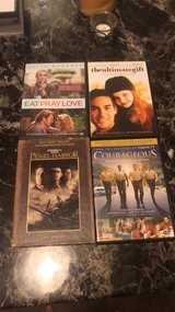 Four DVDs in Fort Jackson, South Carolina