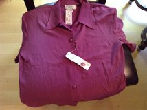 Blouse, purple polyester in Macon, Georgia