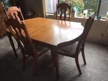 Antique Dinning Room Table and Chairs *** VERY GOOD CONDITION in Fort Lewis, Washington