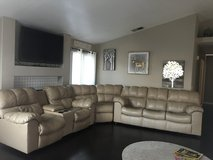 Must go this WEEKEND 3 piece leather sofa bed and recliners in Temecula, California