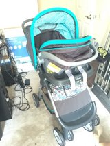 Geo Winnie the Pooh Stroller with Infant car seat in Miramar, California