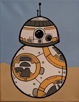 BB-8 Hand Painted in Temecula, California