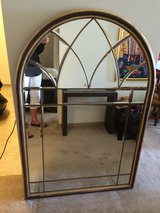 Large Arch Mirror from the Merchandise Mart in Algonquin, Illinois