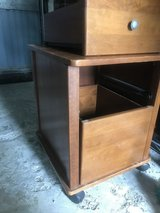 File Cabinet - solid wood in Ramstein, Germany