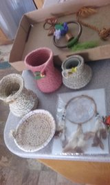 hand made baskets in 29 Palms, California