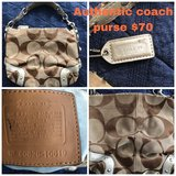 Authentic Coach Purses in Hampton, Virginia