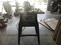 """10"""" table saw from central machinery with base in Camp Lejeune, North Carolina"""