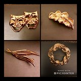 Lot of 4 Vintage Brooches in Hampton, Virginia