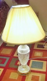 Beautiful crystal-like base table lamp in Alamogordo, New Mexico