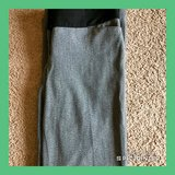 "Like New Women's Express Black/Gray Light Dress Pants Size 8, 30"" Inseam in Hampton, Virginia"