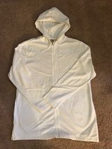 Like New LL Bean White Hooded Swimsuit Cover Up in Hampton, Virginia