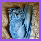 "Like New Gap Skinny Jean Leggings w/Frayed Ankles Size 12, 30"" Inseam in Hampton, Virginia"