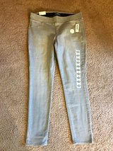 "NWT Women's Slimming Skinny RockStar Jeans Size 14, 30"" Inseam Gray in Hampton, Virginia"