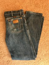 "Excellent Condition Women's Vintage Wrangler Straight Cut Jeans Size 31""Wx32""L in Hampton, Virginia"