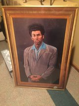 Seinfeld - Cosmo Kramer Framed Art in Naperville, Illinois