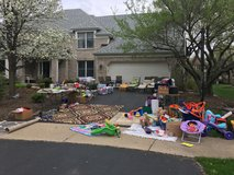 Garage sale Friday, 5/4, and Saturday, 5/5, 9-4pm in Naperville, Illinois