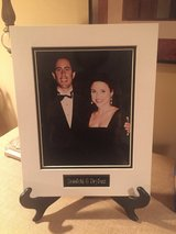 Seinfeld and Dryfuss Matted Photo with Name Plate in Naperville, Illinois